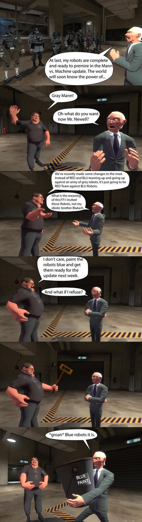 Mann vs. Machine: Last Minute Changes by MeltingMan234