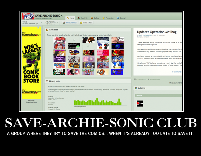 SAVE-ARCHIE-SONIC is rubbish by MeltingMan234