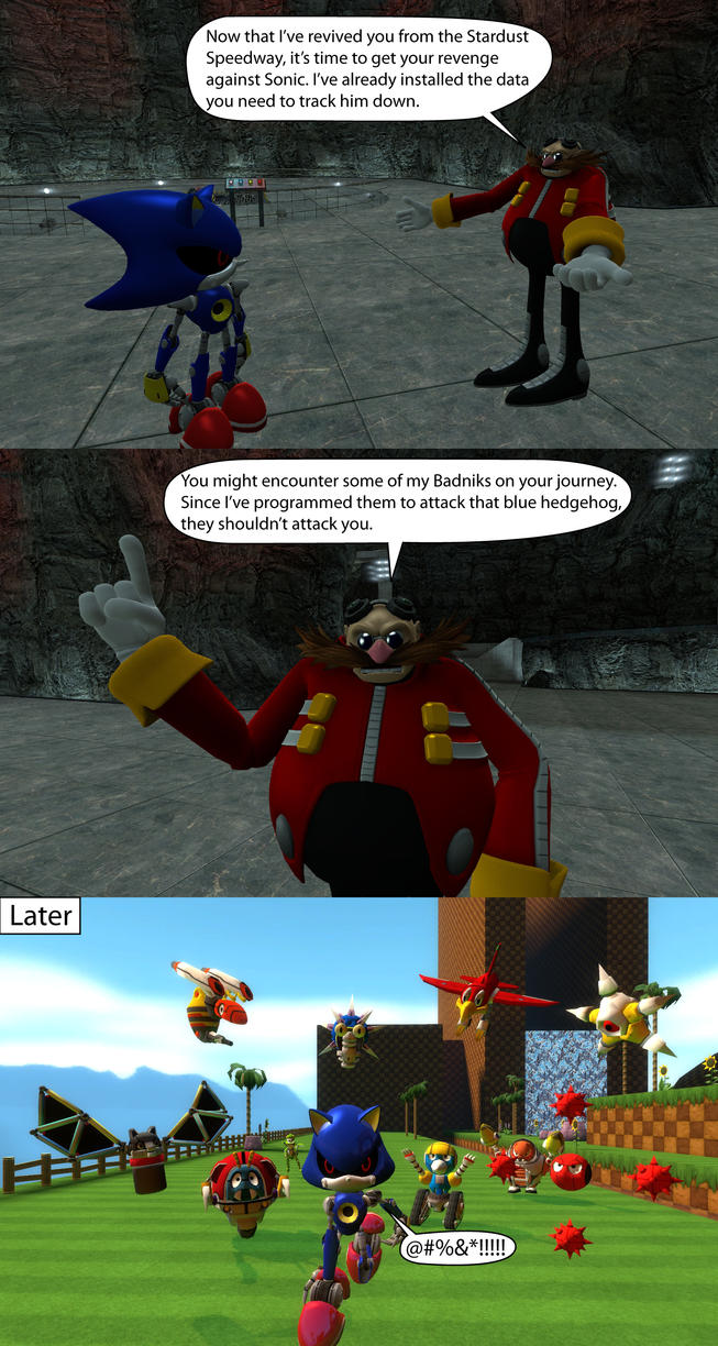 Robotnik the Idiot by MeltingMan234