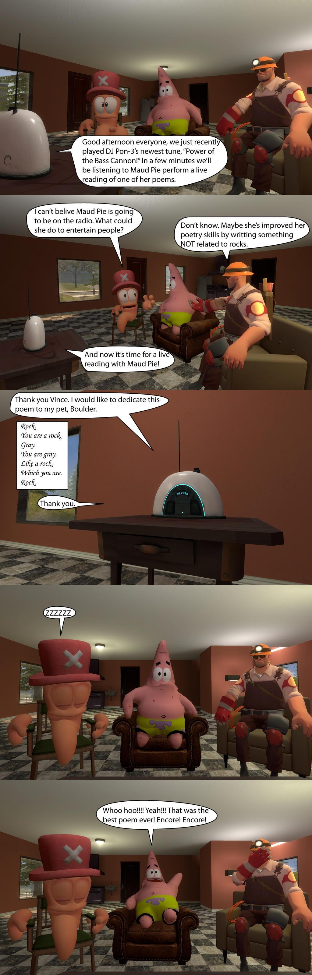 Maud Pie's Biggest Fan by MeltingMan234