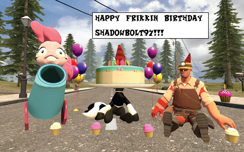 Shadowbolt97 Birthday Card by MeltingMan234 on DeviantArt – Tf2 Birthday Card