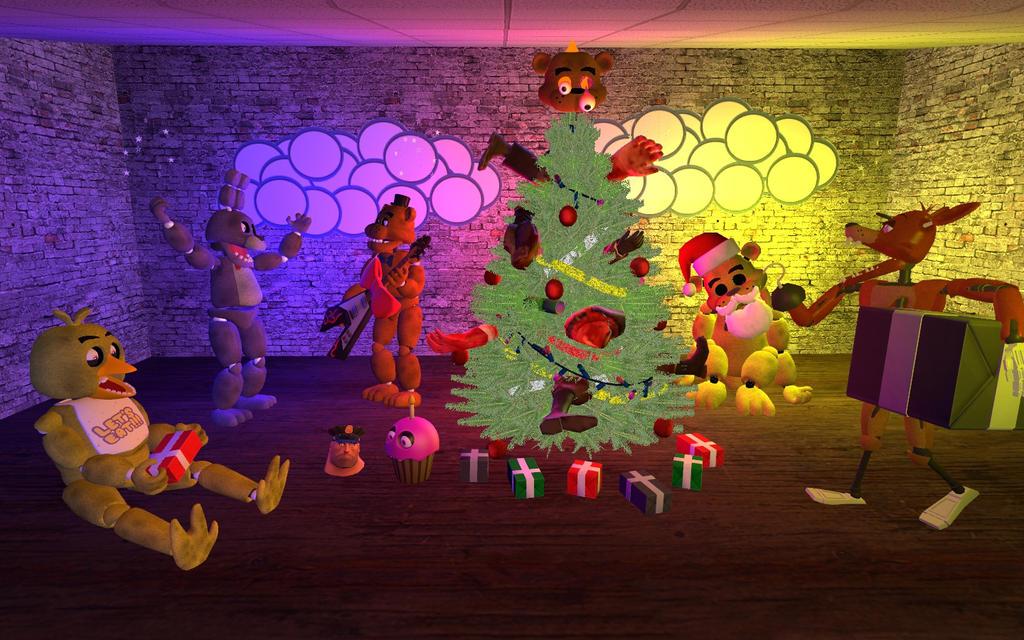 Christmas Night at Freddy's by MeltingMan234 on DeviantArt