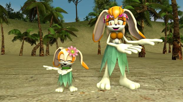 Hawaiian Bunnies