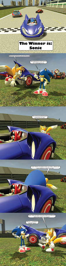 The Real Reason why Sonic drives a Car