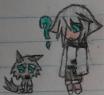 Ren and Kiba Chibi by TeamDragoonX