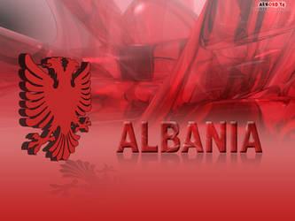 Albanian 3D Eagle Wallpaper