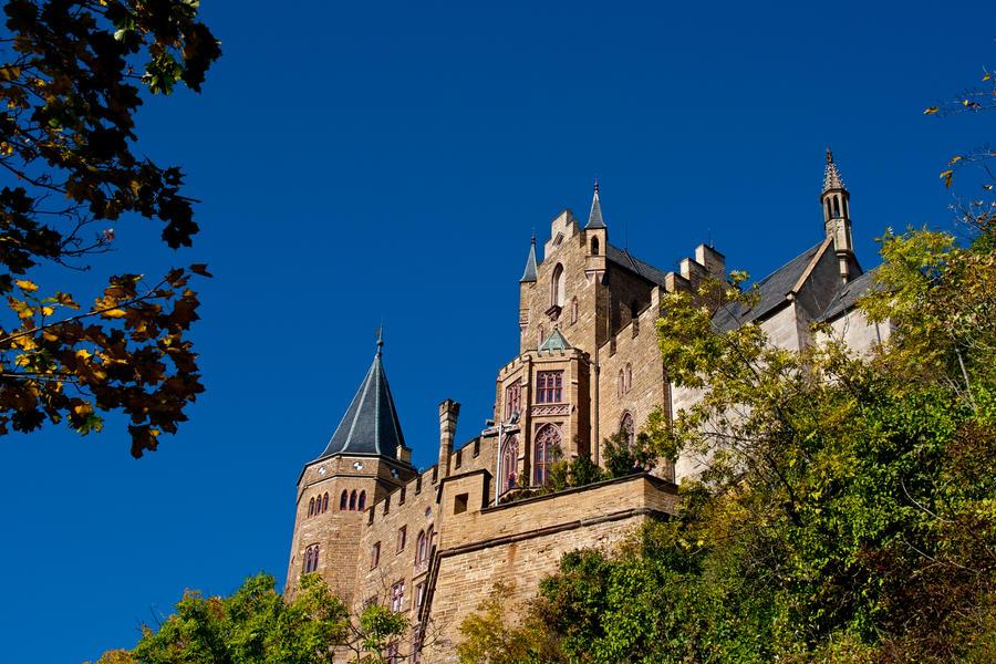 Hohenzollern Castle II by DeviantTeddine