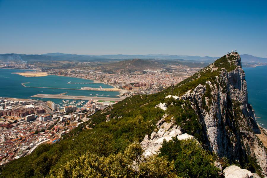 Scenic Gibraltar by DeviantTeddine