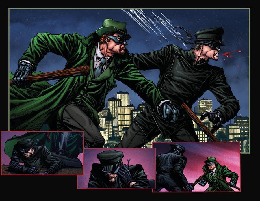 Green Hornet: Blood Ties 2n3