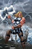 Ultimate Thor colors by MarkHRoberts