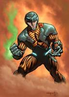 X-O Manowar by MarkHRoberts