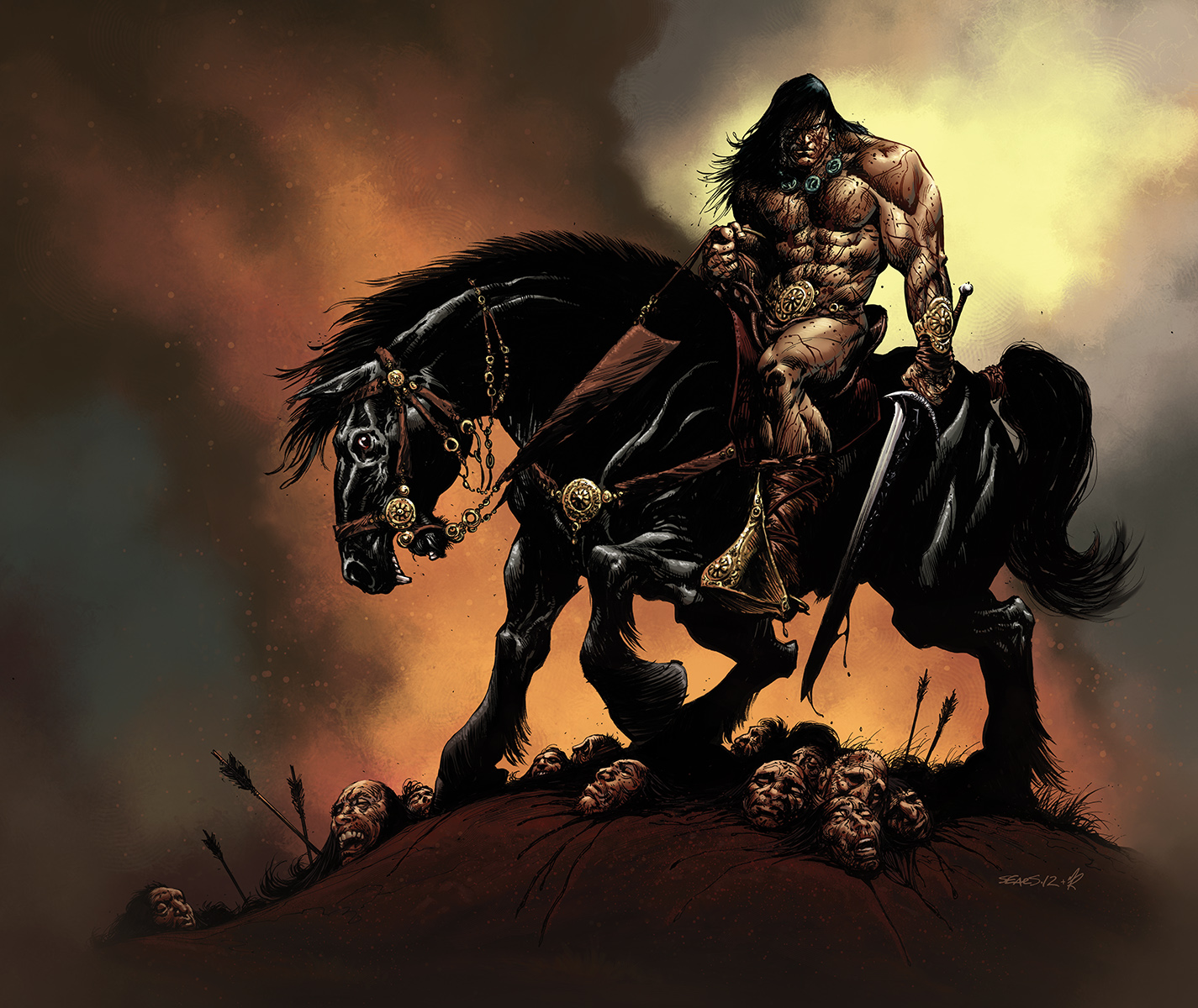 Conan by MarkHRoberts