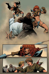 Red Sonja: Berserker 19