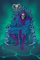 Skeletor by MarkHRoberts