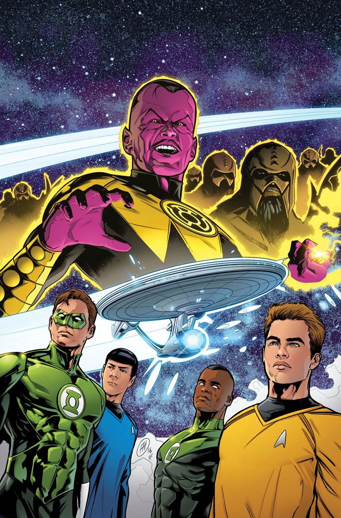 Star Trek/Green Lantern 01 by MarkHRoberts