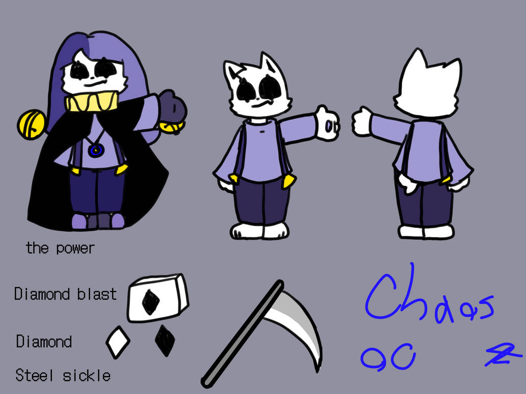 Chaos Oc by guyidonotknow