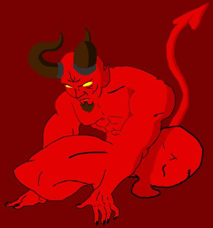 Antari's Art Satan_by_SilverAntari