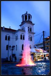Church in Paralia