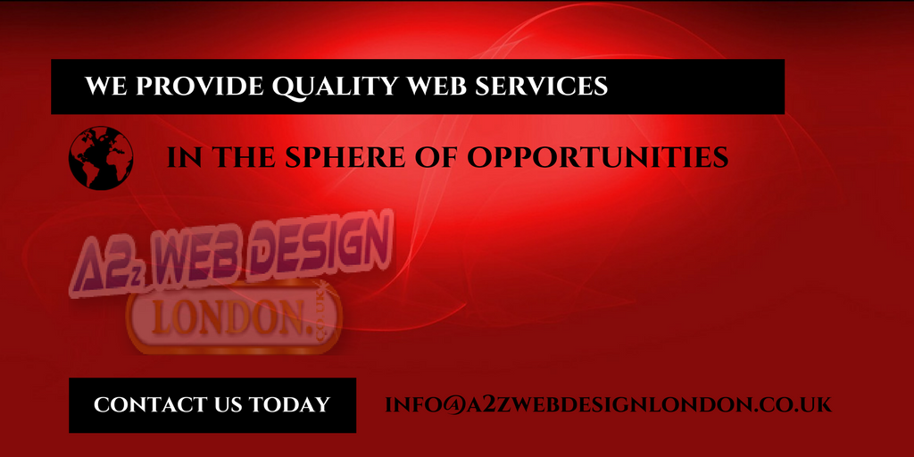 Quality web design services london by a2zwebdesignlondon for Design services london