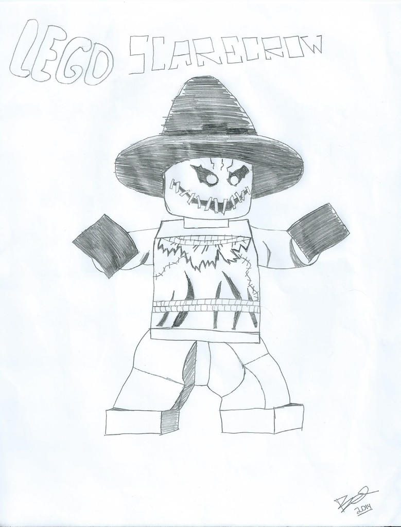 Lego Scarecrow By GreenDayFanGirl15