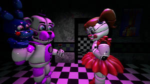 (SFM)Funtime Freddy x Baby by ShadowPikachuu