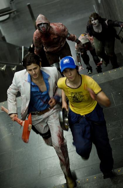 Hunter left 4 dead cosplay