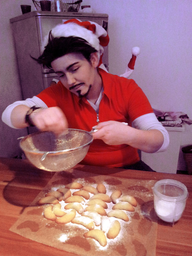 Iron Man: Christmas Cookies by BJey04