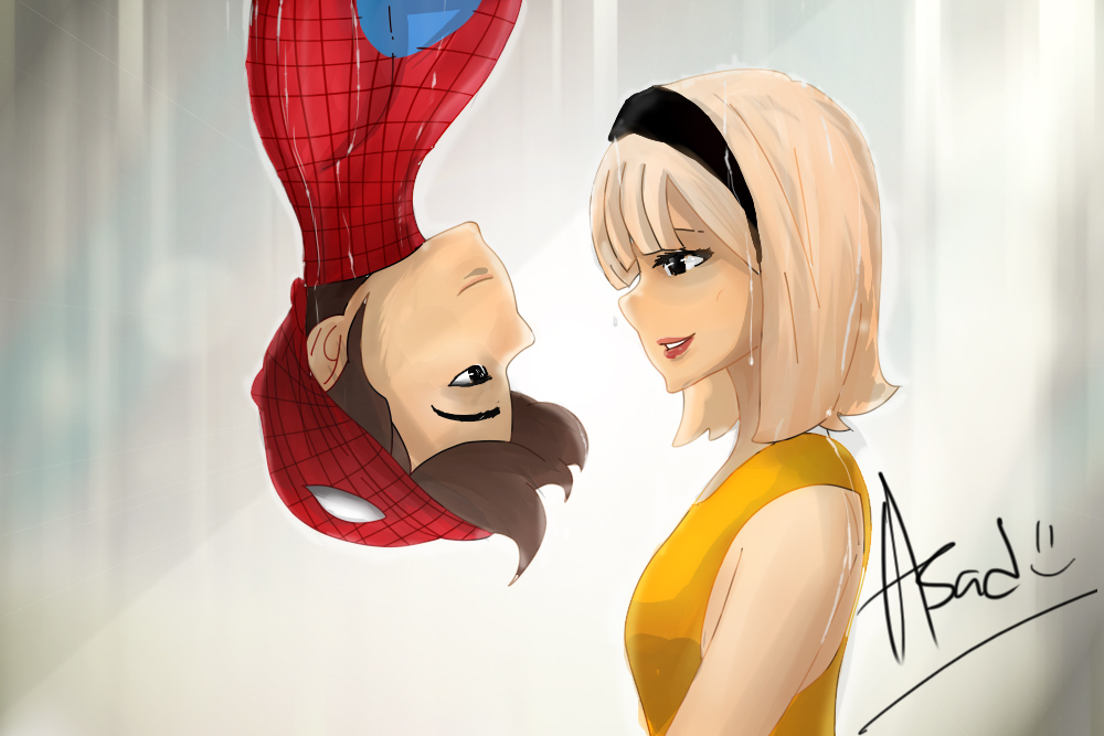Spiderman and Gwen Stacy by asadfarook on DeviantArt Tobey Maguire Movies 2017