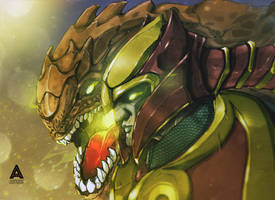 Dragon Knight Dota 2 by asadfarook