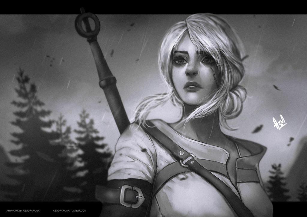 Ciri | Witcher 3 by faruuk-sama