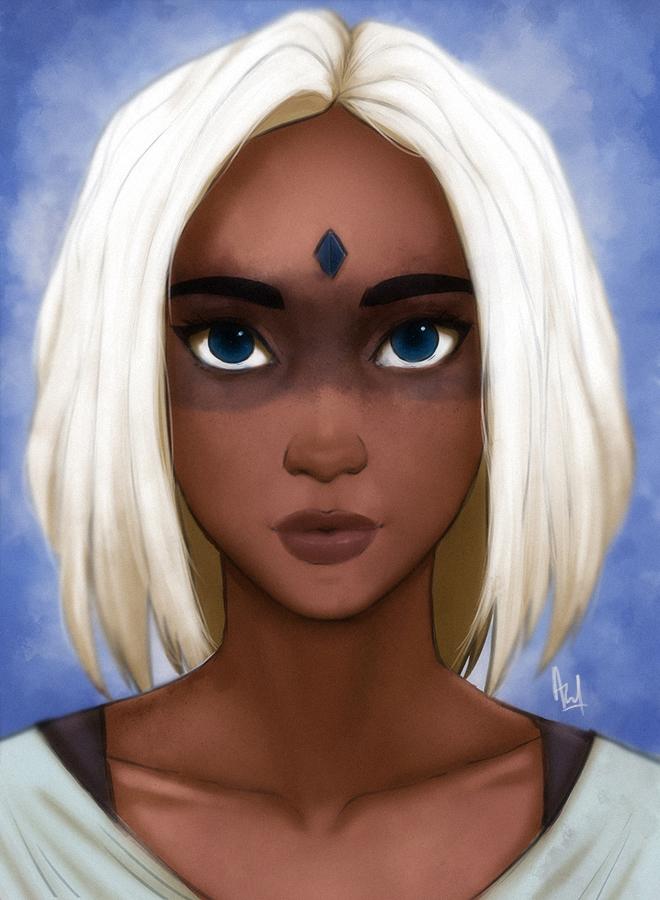 Portrait by asadfarook