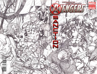 Avengers by viskratos