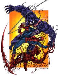 Colored version Spiderman by viskratos