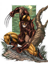Wolverine colored version by viskratos