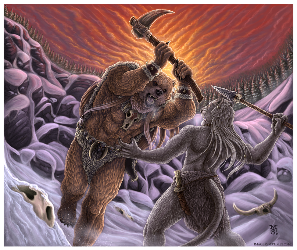 Wrath of the Great Bear by Art-of-Sekhmet