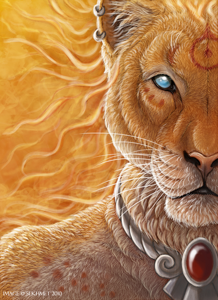 bast Sekhmet - by Art-of-Sekhmet DeviantArt (2010-2017) © dell'autore