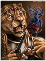 Meal Time Mischeif by Art-of-Sekhmet