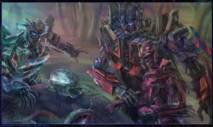 Wheeljack, Optimus, Elita