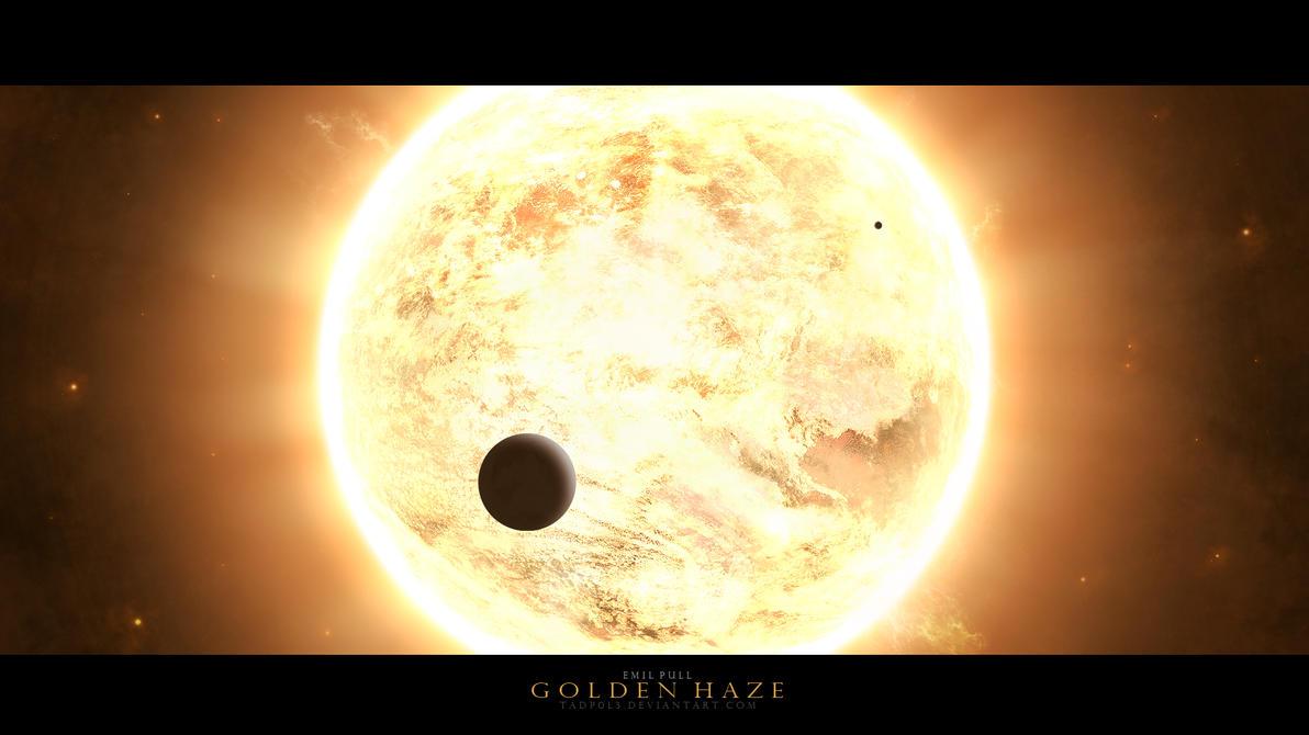 Golden Haze by tadp0l3