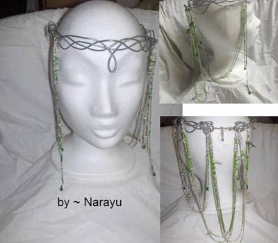 elven crown green by Narayu
