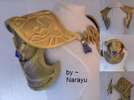 Princess zelda armor details by Narayu
