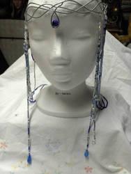 blue elven crown by Narayu