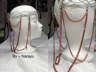 ruby Elven crown by Narayu