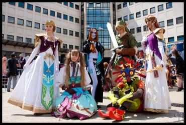 The LOZ Zelda group by Narayu