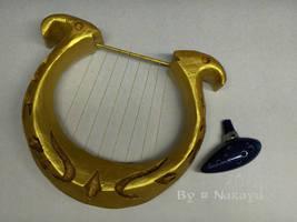 The Legend of Zelda sacred instruments by Narayu