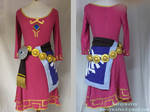 Zelda Skyward Sword skyloft dress full costume