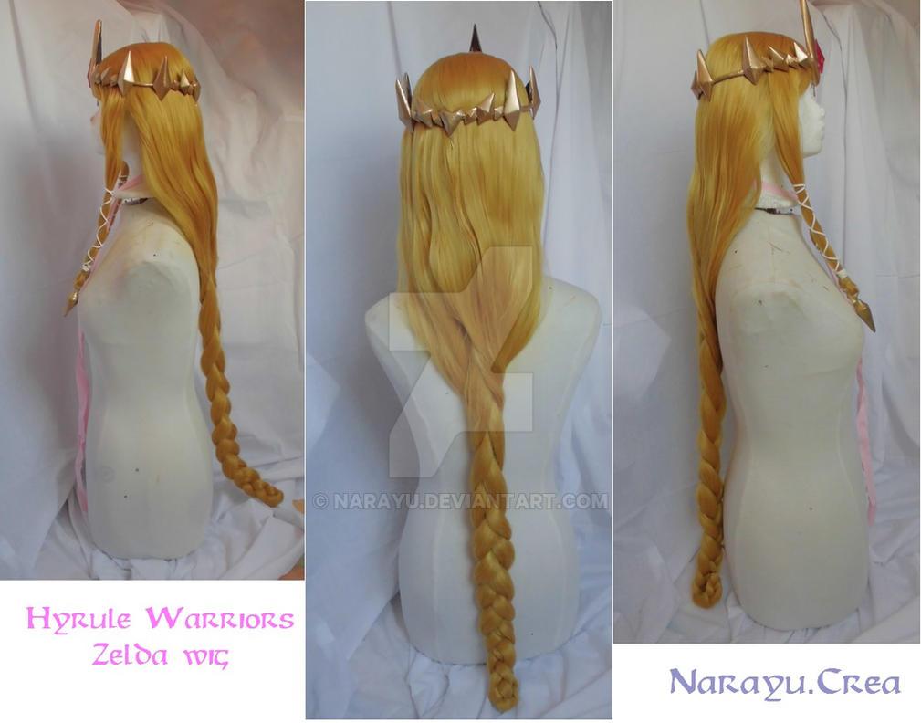 Hyrule Warriors Zelda styled wig by Narayu