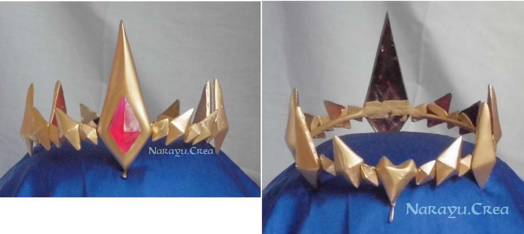 Hyrule Warriors Zelda's crown by Narayu