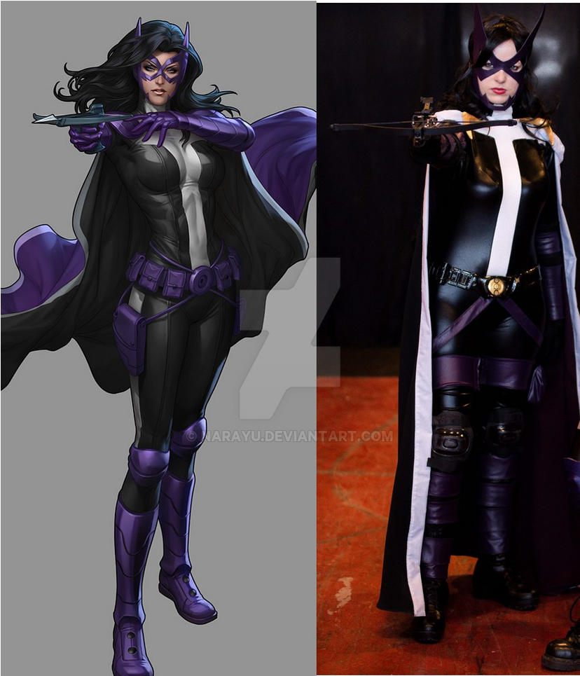 Huntress (DC Batman) cosplay comparison by Narayu ...  sc 1 st  DeviantArt & Huntress (DC Batman) cosplay comparison by Narayu on DeviantArt