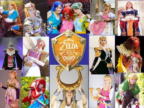 The Legend of Zelda 35tth anniversary